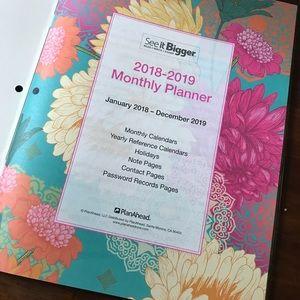 Other Large 2018 2019 Planner Poshmark